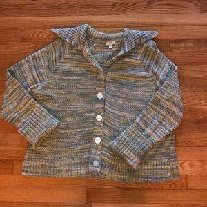 Beautiful J. Jill cotton sweater in EUC